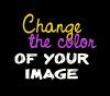 change color of image in photoshop