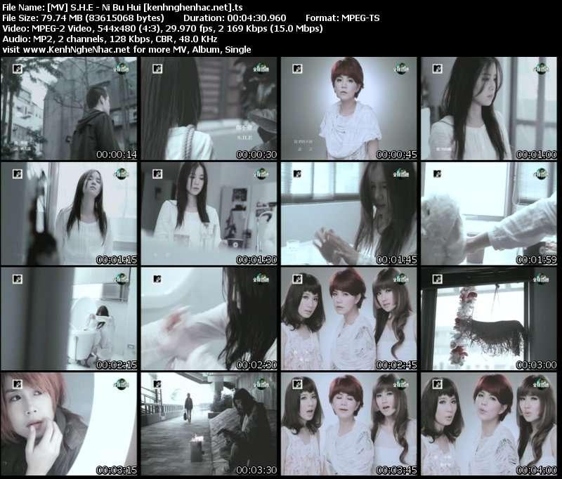 [MV] S.H.E   Ni Bu Hui
