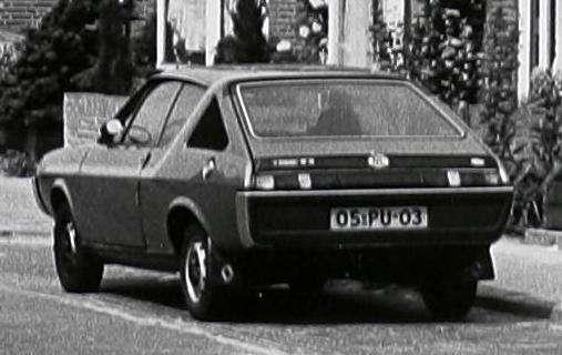 1977 Renault 17 Ts. Renault 17 TS uit 1977,